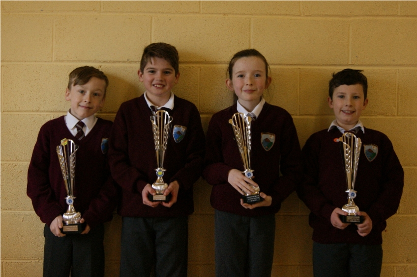 Credit Union Quiz Under11 Runners up 2017